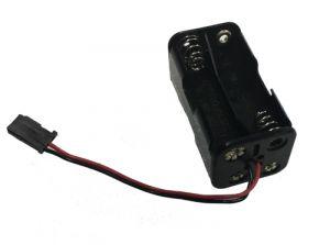 Batterijhouder voor 4 batterijen