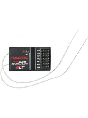 Tactic TR625 6-Channel SLT Receiver Twin Antennas