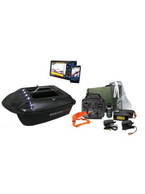 Nanotec GT2 Metalic Carbon incl. Vexilar Sonarphone Wifi Fishfinder