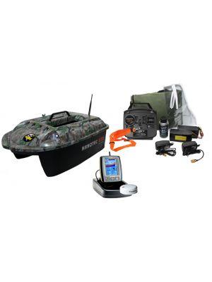 Nanotec GT2 camo incl.Toslon TF640 Fishfinder & GPS