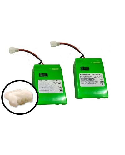 Lithium LifePo4 6.4v 7000 mAh (2 stuks)